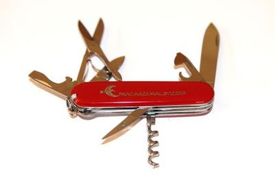 Victorinox Pocketknife with National Park Logo and Lettering