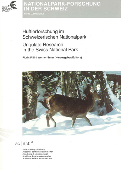 Ungulate Research in the Swiss National Park