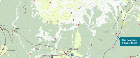 iWebPark: The app as a digital hiking guide